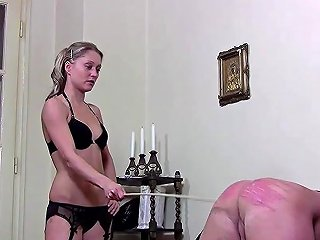 Two Mistresses Take Turns In Hard Caning Their Slave Txxx Com