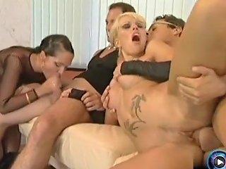 Raunchy Nymphos Ivett And Lisa Having Fun On A Wild Foursome Action Txxx Com