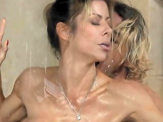 Son Caught Step Mommy Alexis Fawx Working At Nuru