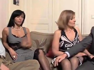 French Milf Swingers Foursome Porn Videos