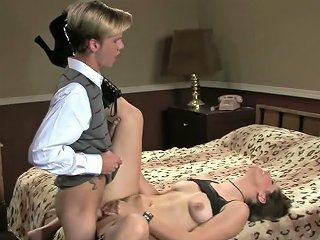 Filthy Gal Bobbi Star Having Kinky Foreplay In A Hotel Room