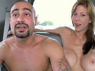 Calvin Coons And Ari Gypsy Fuck Each Other In Front Of A Girl