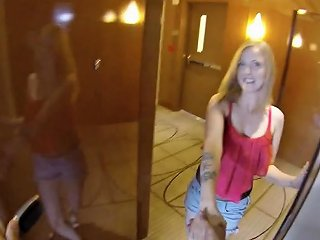 This 20 Year Old Blonde Coed Works As An Escort To Earn