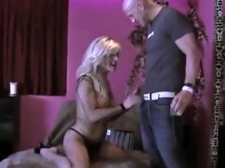 Blonde Shemale Fucked On Fur Covered Couch Tranny Porn Fd