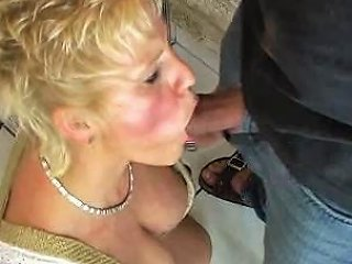 Blond Mom Enjoys Beer And Cum Free Pussy Fucking Porn Video
