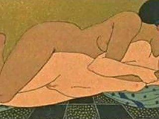Erotic Art Of George Barbier 1 Les Chansons De Bilitis