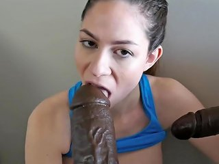 Fitness Babe Taking Two Bbc's After The Gym Roleplay Hdzog Free Xxx Hd High Quality Sex Tube