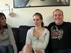 dutch threesome amateur clip