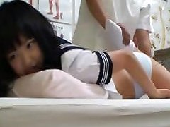 Dirty Doctor Takes Advantage Of A Young Student Who Comes
