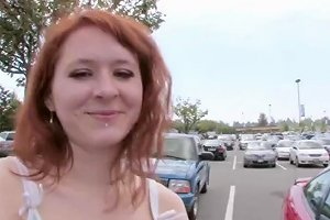 Slinky Redhead Slut Craves For The Giant Pulsating Donger Having Fun And Filming Some Vids With Olivia