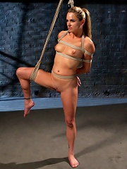Sexy Milf Tied Up and Dominated