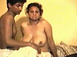 Shy Desi Aunty...