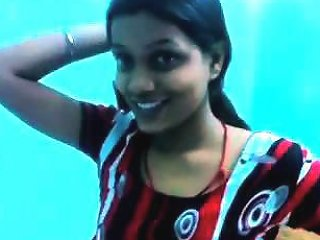 Slim Indian Beauty Takes Her Clothes Off And Demonstrates Her Naked Body