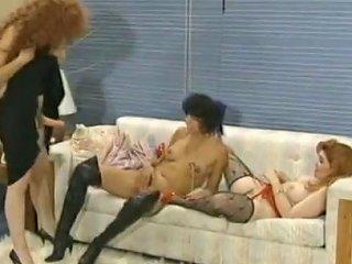 Hermaphrodite Dane Harlow Plays With 2 Girlfriends