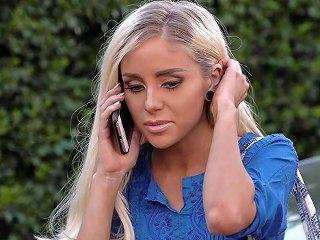 Lesbian Boss Seduces Teen Naomi Woods