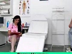 Handjob From Naughty Nurse Feat Czech Cougar Marta