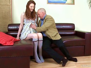 Old Goes Young - Alina Has A Great Looking Ass