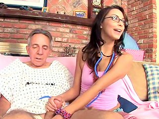 Sexy Teen Danni Cole Gets Dick Of An Old Fart