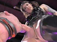 Latex Ts Mistress Fuck Slave Deepthroat