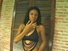 Brazilian Tranny Gets Penetrated Hard Drtuber