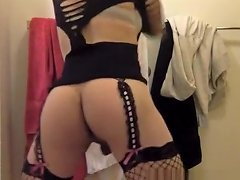 Legal Age Teenager Sissy Shaking Her Ass