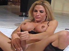 Anna Alexandre Masturbating Tranny