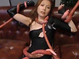 Asami Ogawa Asian Babes Fight Tentacle Part4 Drtuber