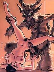105 demonic creature satisfies a comics fan^Toons Porn Cartoon porn sex xxx cartoons toon toons drawn drawings free